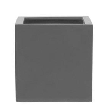 Fiberstone Glossy Block - Prachtige hoogglans bloempot in meerdere maten en kleuren!