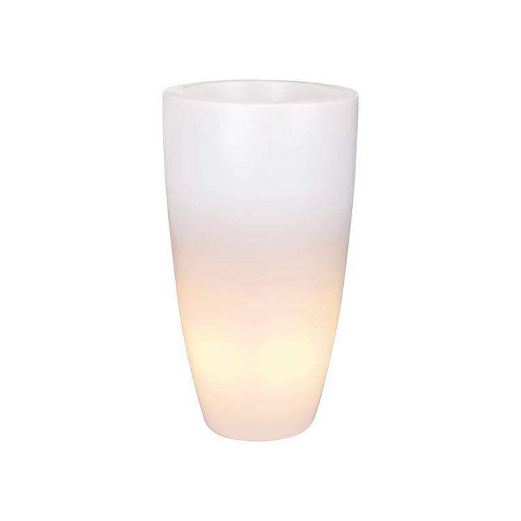Pure Soft Round High Light LED - Unieke verlichte bloempot voor ...