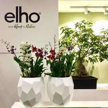 Elho Elho Pure Edge Blanc diam 47cm H45cm -15% de réduction commander en ligne!