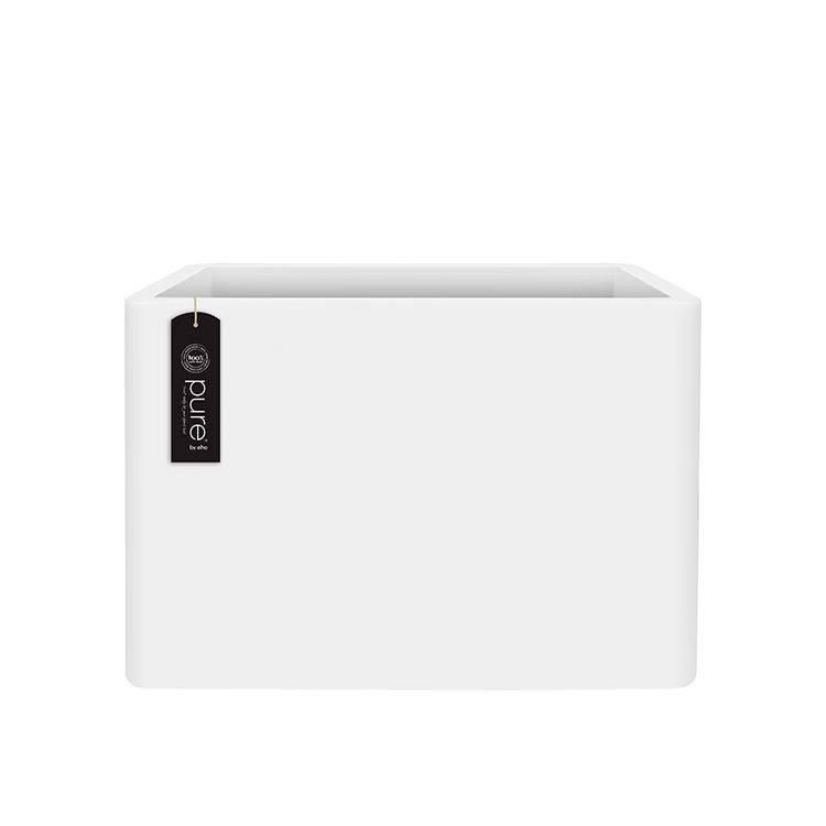 Elho Elho Soft Soft Brick divider. Jardinière blanche 80 x 30cm H60cm -15% de réduction de commande en ligne!