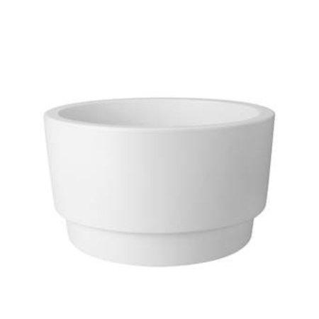 Elho Elho Pure Grade Bowl witte bloempot 47cm H27cm -15% korting online bestellen!