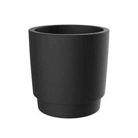 Elho Elho Pure Grade zwarte bloempot 39cm H40cm -15% korting online bestellen!