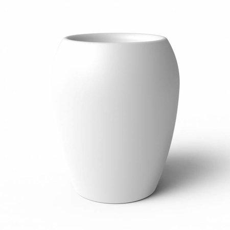 Elho Elho Pure Amphora- Witte bloempot 55cm H71cm -15% korting online bestellen!