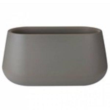 Elho Pur Cone Long-Stone pot de fleurs gris 74 x 39cm H36cm -15% de réduction de commande en ligne!
