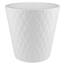 Pure Straight Crystal blanc pur 37cmH36cm Pot de fleurs