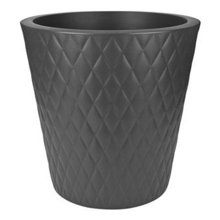 Elho Elho Pure Straight Crystal Antraciet bloempot 47cm H48cm -15% korting online bestellen!