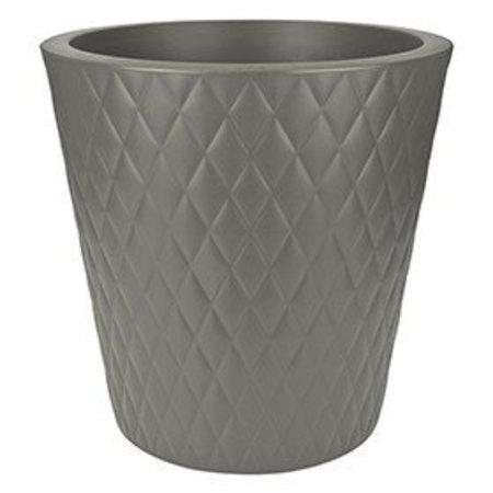 Elho Elho Pure Straight Crystal Stone pot de fleurs gris 47cm H48cm -15% de réduction commander en ligne!
