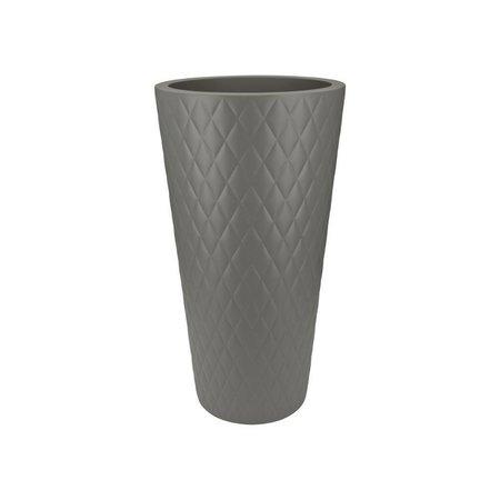 Elho Elho Pure Straight Crystal Haute Stone pot de fleurs gris 42cm H80cm -15% de réduction commander en ligne!
