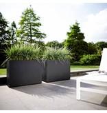 Elho Roues de séparation Elho Pure Soft Brick. Jardinière anthracite 80 x 30cm H60cm -15% de remise en ligne!