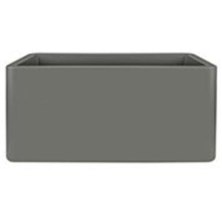 Elho Elho Pure Soft Brick Long wheels steengrijze plantenbak 80 x 40cm H40cm. -15% korting online bestellen!