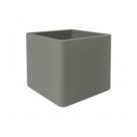 Elho Elho Pure Soft Brick wheels steengrijs plantenbak 40 x 40cm H40cm - 15% korting online bestellen!