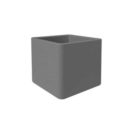 Elho Elho Pure Soft Brick wheels Antraciet plantenbak 50 x 50cm H50cm - 15% korting online bestellen!