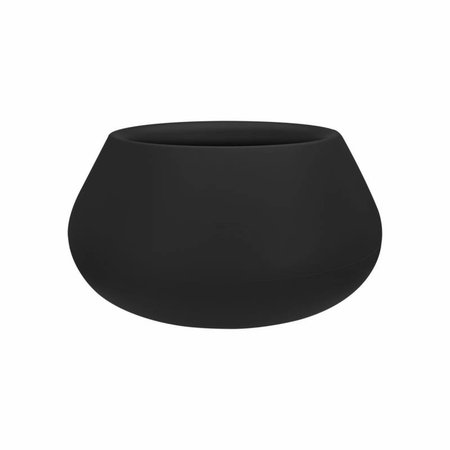 Elho Elho Pure Cone Bowl- Stijlvolle Zwarte bloempot diam 60cm H30cm. -15% korting online bestellen!