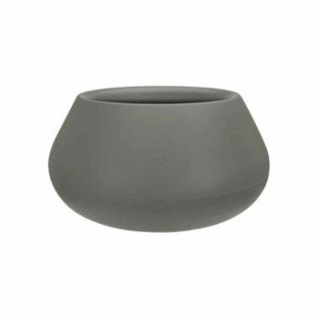 Elho Elho Pure Cone Bowl- Stijlvolle steengrijze bloempot diam 60cm H30cm. -15% korting online bestellen!