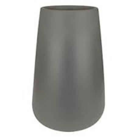 Elho Elho Pure Cone High - steengrijze Stijlvolle Ronde hoge bloempot diam 55cm H85cm. -15% korting online bestellen!