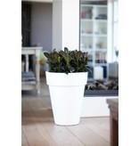 Elho Pure Round High Bloempot. Witte hoge ronde bloempot Diam 35cm H43cm. -15% online korting!