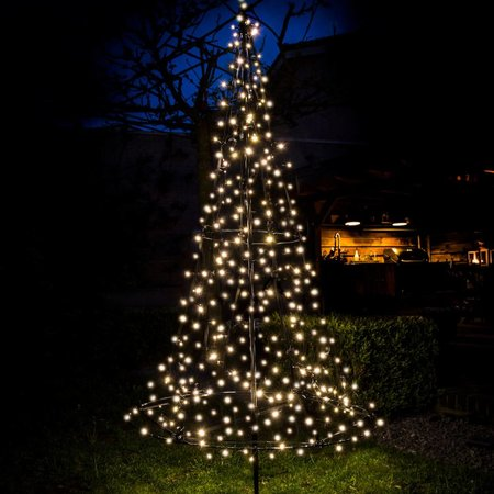 Fairybell Fairybell Kerstboom H185cm / 250 LED Lampjes - Imposante Kerstboom In uw tuin of pand.