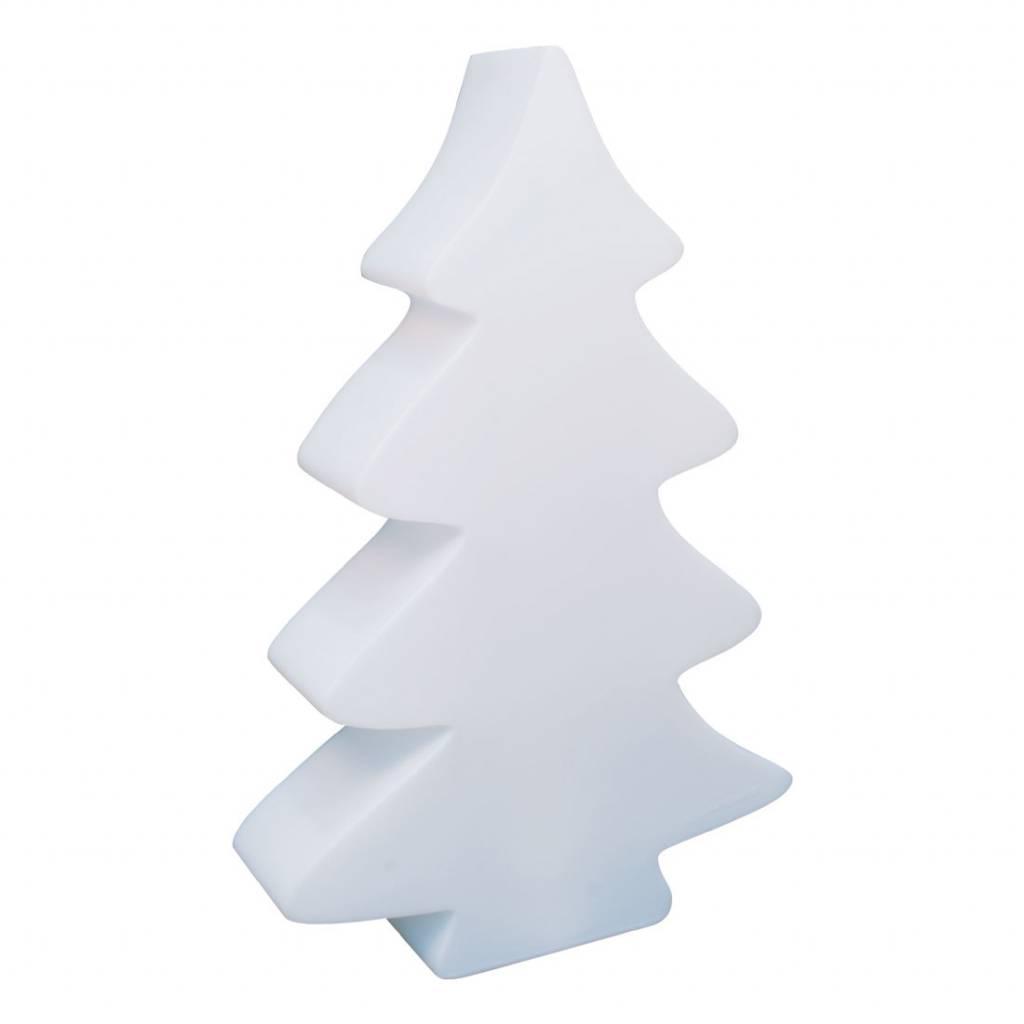 Lumenio Kerstboom Wit Verlichte Unieke Kerstboom 70 X 20cm H115cm
