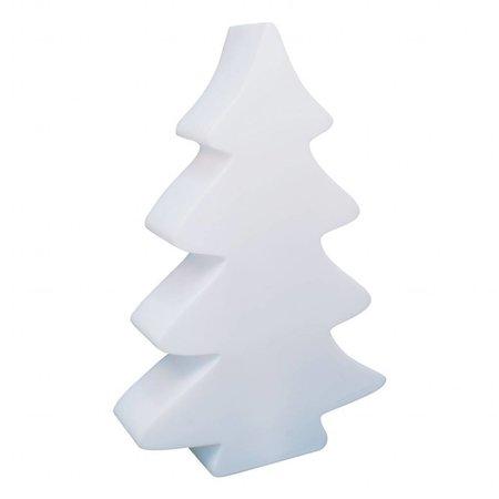 Fleurs Ami Fleur Ami Lumenio Kerstboom - wit verlichte unieke kerstboom 54 x 14cm H82cm met verlichting