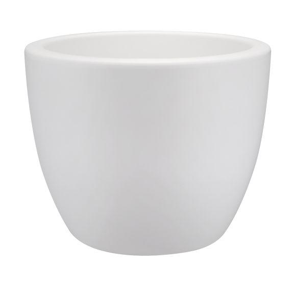 Elho Elho Pure Soft Round Blanc élégant rond pot à fleurs rond diamètre 30cm H23cm! -15% de réduction en ligne!