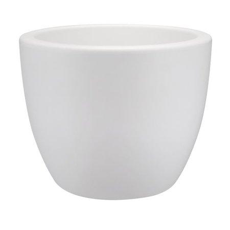 Elho Elho Pure Soft Round Blanc élégant rond pot à fleurs rond diam 50cm H37cm! -15% de réduction en ligne!