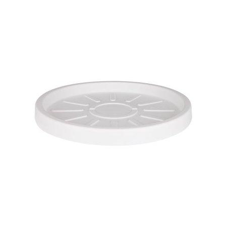 Elho Elho Pure Saucer Witte ronde schotel diam 25cm voor de elho bloempotten. Hier te verkrijgen online!