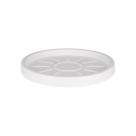 Elho Elho Pure Saucer Witte ronde schotel diam 40cm voor de elho bloempotten. Hier te verkrijgen online!