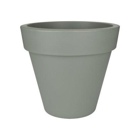 Elho Elho Pure Round - Pot à fleurs rond gris pierre diam 50cm H44cm. -15% de réduction en ligne!