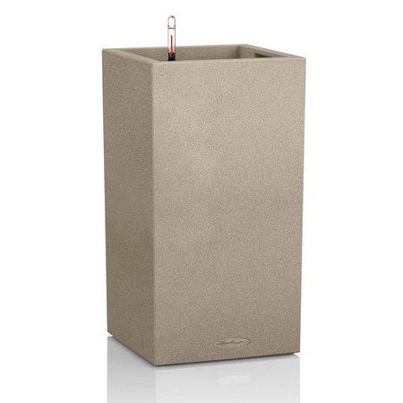 Lechuza Canto Stone High 30 Beige sable High Jardinière carrée 30 x 30cm H56cm! -15% de réduction en ligne