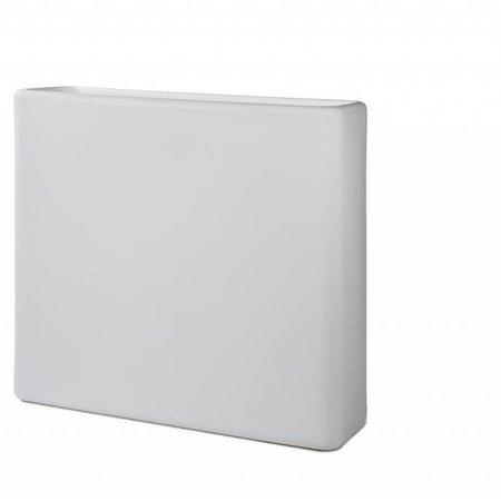 Otium Design Otium design Murus 90 . Witte stijlvolle Bloembak 90 x 27cm H80cm. Online Bestellen!