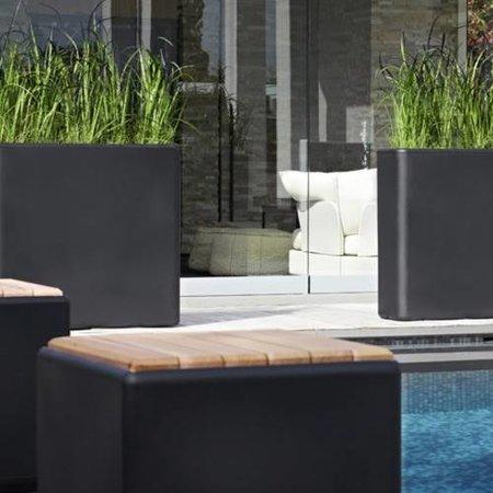 Otium Design Otium design Murus 90. Bac à fleurs élégant noir 90 x 27cm H80cm. Commandez en ligne!