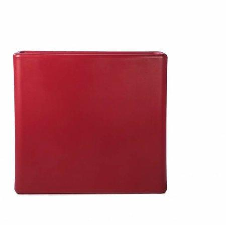 Otium Design Otium design Murus 90 . Rode stijlvolle Bloembak 90 x 27cm H80cm. Online Bestellen!