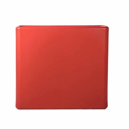 Otium Design Otium design Murus 90 . Oranje stijlvolle Bloembak 90 x 27cm H80cm. Online Bestellen!