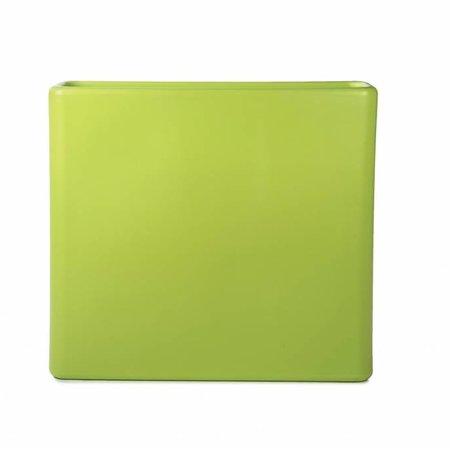 Otium Design Otium design Murus 90 . Limoen groene stijlvolle Bloembak 90 x 27cm H80cm. Online Bestellen!