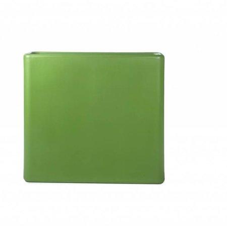 Otium Design Otium design Murus 90 . Olijf groene stijlvolle Bloembak 90 x 27cm H80cm. Online Bestellen!