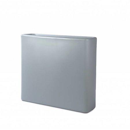 Otium Design Otium design Murus 90 . Grijze stijlvolle Bloembak 90 x 27cm H80cm. Online Bestellen!