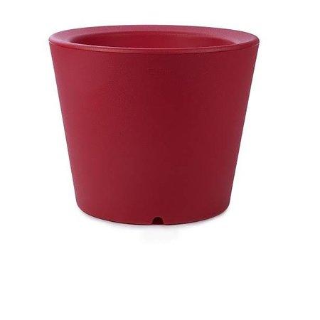 Otium Design Otium Design Olla 40. Rode  ronde bloempot diam 47cm H40cm. Hier online bestellen!