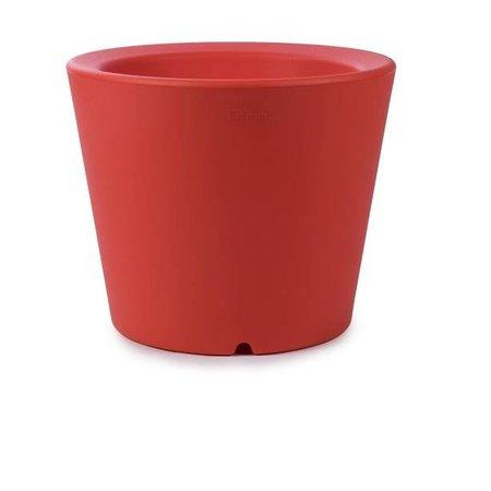 Otium Design Otium Design Olla 40. Pot de fleurs rond orange diam 47cm H40cm. Commandez en ligne ici!
