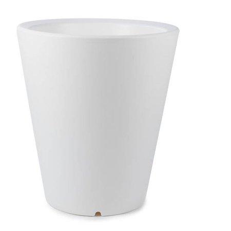 Otium Design Otium Design Olla 70. Witte Ronde bloempot Diam 60cm H70cm. Hier online bestellen!