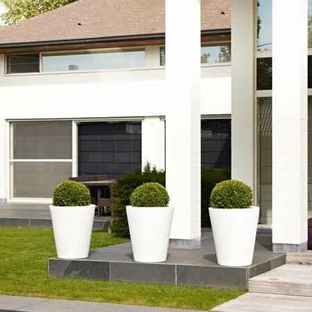 Otium Design Otium Design Olla 70. Pot de fleurs rond noir Diam 60cm H70cm. Commandez en ligne ici!
