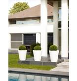 Otium Design Otium Design Olla 100. Witte Ronde bloempot Diam 80cm H100cm. Hier online bestellen!