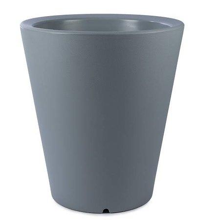 Otium Design Otium Design Olla 100. Pot de fleurs rond gris Diam 80cm H100cm. Commandez en ligne ici!