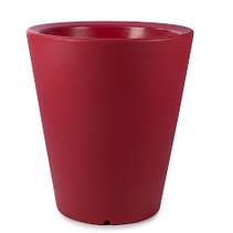 Olla 100. Rouge 80cm H100cm. Pot de fleurs haut