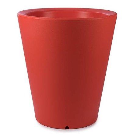 Otium Design Otium Design Olla 100. Pot de fleurs rond orange Diam 80cm H100cm. Commandez en ligne ici!