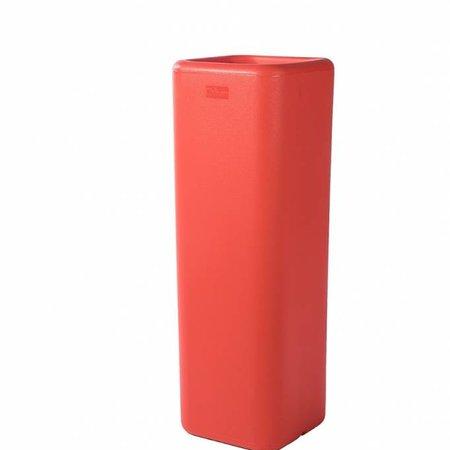 Otium Design Otium Design Murus 27. Jardinière haute carrée orange 27 x 27cm H80cm. Commandez en ligne
