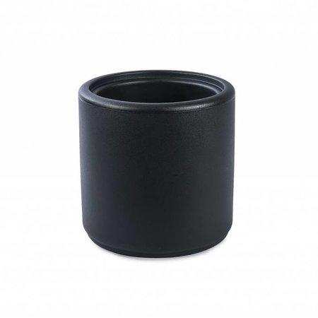 Otium Design Otium Design Cylindrus. Pot de fleurs anthracite diam 43cm H43cm. Commandez en ligne!