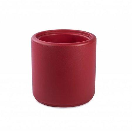 Otium Design Otium Design Cylindrus. Pot de fleurs rond rouge diam 43cm H43cm. Commandez en ligne!