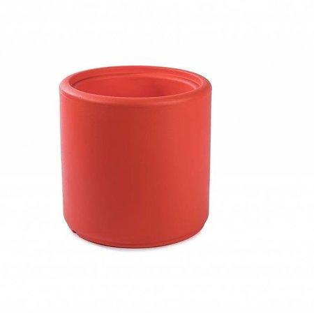 Otium Design Otium Design Cylindrus. Oranje ronde bloempot diam 43cm H43cm. Online bestellen!