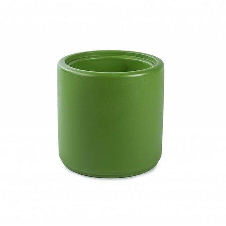 Otium Design Otium Design Cylindrus. Pot de fleurs rond vert olive diam 43cm H43cm. Commandez en ligne!