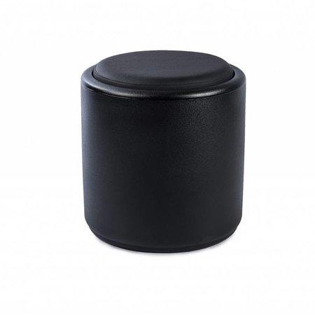 Otium Design Coussin rond noir Cylindrus design Otium. Applicable au Cylindrus. Commandez en ligne ici!